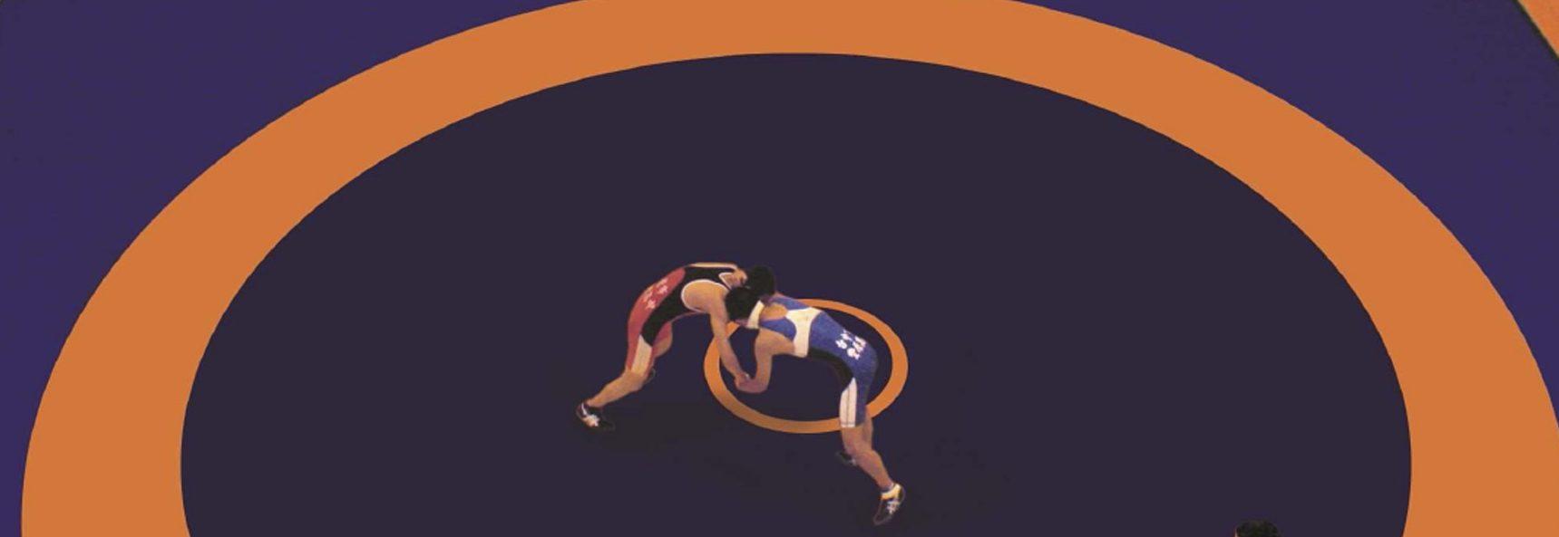 борцовский ковёр, спортивное покрытие
